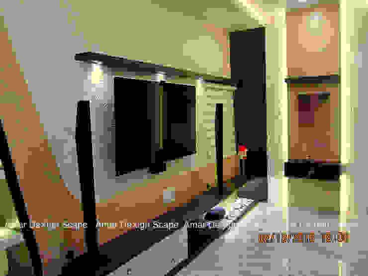 Tv Unit Minimalist living room by Amar DeXign Scape Minimalist