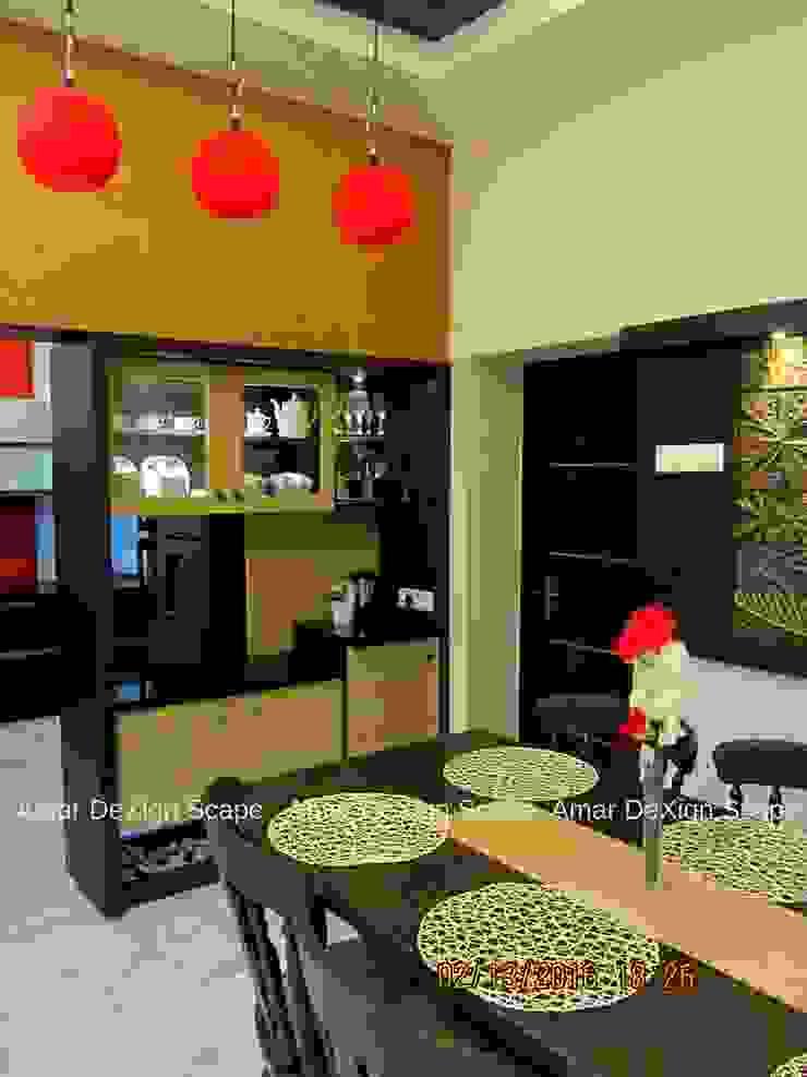 Crockery Unit Minimalist dining room by Amar DeXign Scape Minimalist