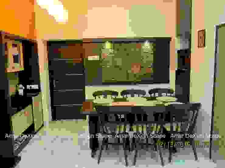 Mr.Senthil & Family Interior Renovation Minimalist dining room by Amar DeXign Scape Minimalist