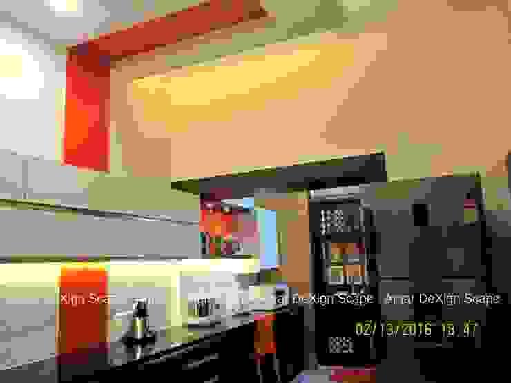 Mr.Senthil & Family Interior Renovation Minimalist kitchen by Amar DeXign Scape Minimalist