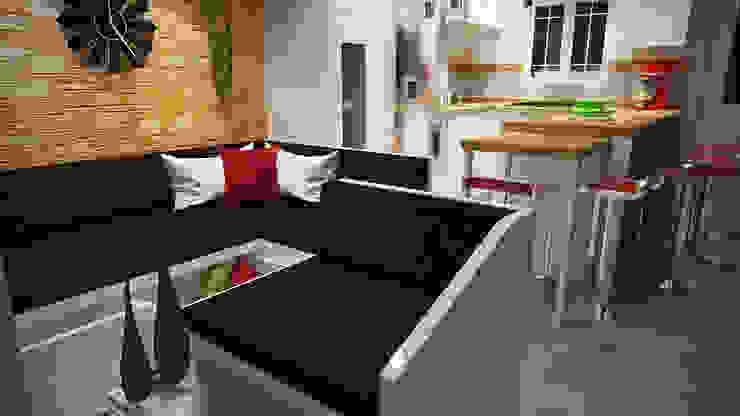 Moderne Wohnzimmer von Rbritointeriorismo Modern