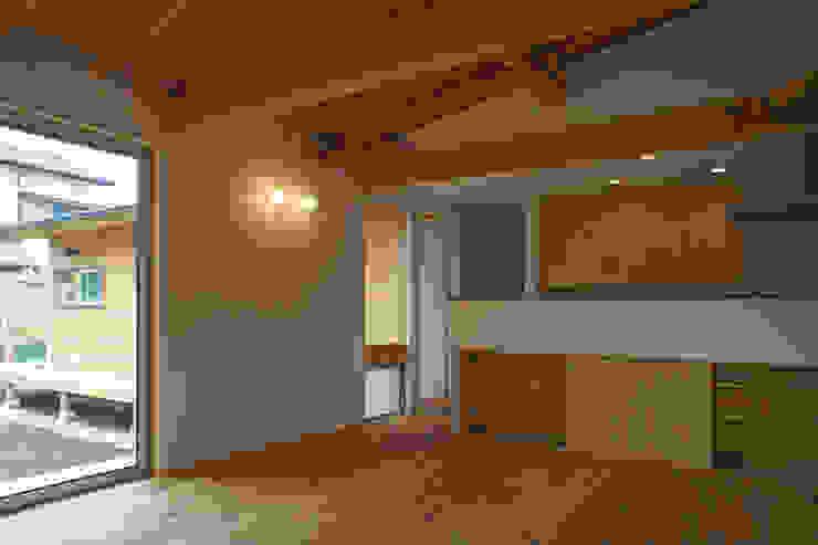 だんしゃりあん ミニマルデザインの キッチン の 環境創作室杉 ミニマル