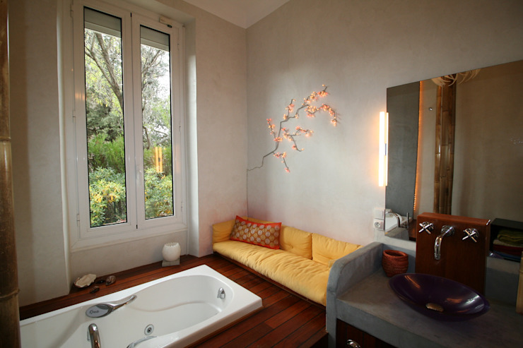 Asian style bathroom by LM Interieur Design Asian