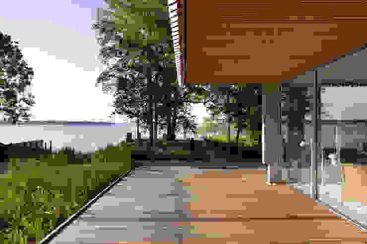 Stephan Maria lang Architektengesellschaft Jardines de estilo rural