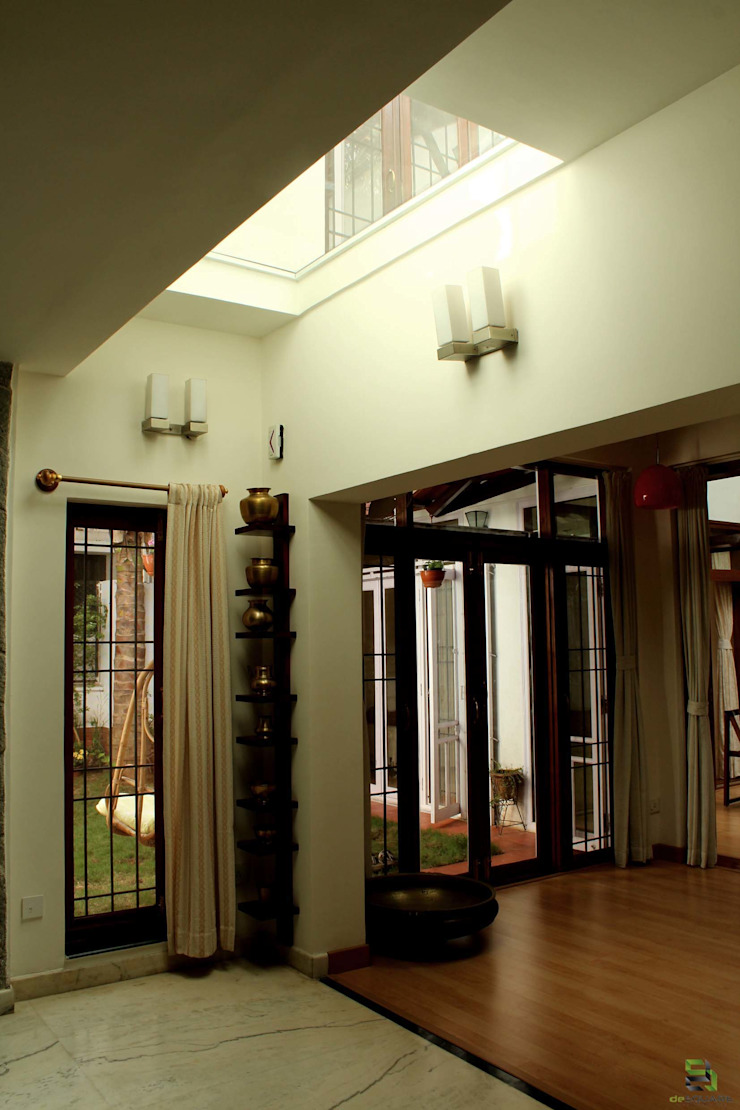 the <q>court</q> house Modern walls & floors by de square Modern