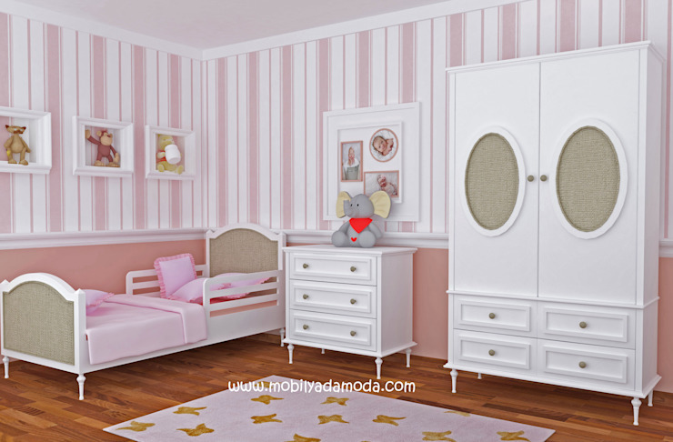  Özel Tasarım Country Bebek&Çocuk Odası Kırsal Çocuk Odası MOBİLYADA MODA Kırsal/Country Ahşap Ahşap rengi