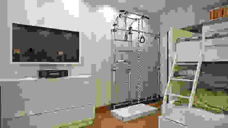 ЖК <q>Томирис</q> Детская комнатa в стиле минимализм от студия визуализации и дизайна интерьера '3dm2' Минимализм