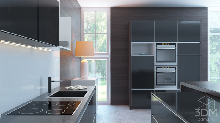 minimalist  by студия визуализации и дизайна интерьера '3dm2', Minimalist