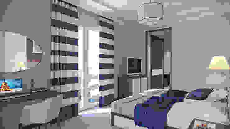 студия визуализации и дизайна интерьера '3dm2' Hotel Minimalis
