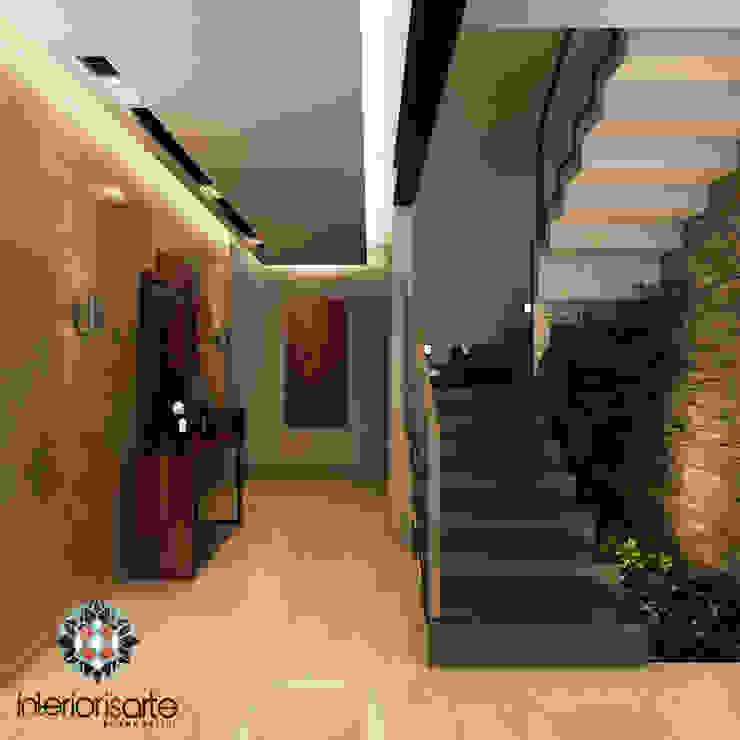 Modern corridor, hallway & stairs by Interiorisarte Modern Stone