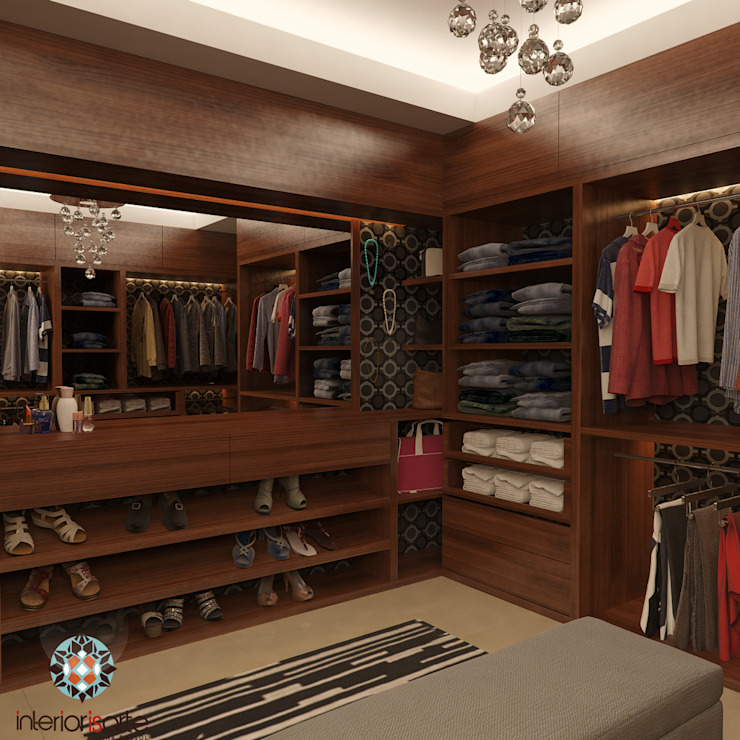 Modern dressing room by Interiorisarte Modern