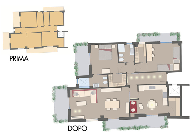 archielle Modern walls & floors