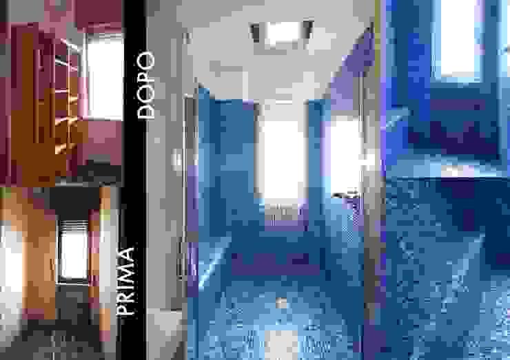 archielle Modern bathroom Blue