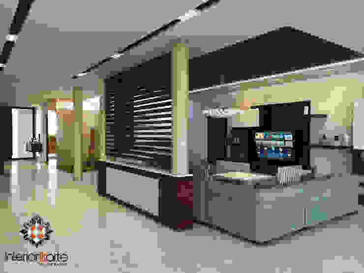 Salas modernas de Interiorisarte Moderno