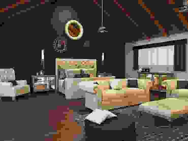 Residencia AC Dormitorios clásicos de Interiorisarte Clásico Madera Acabado en madera