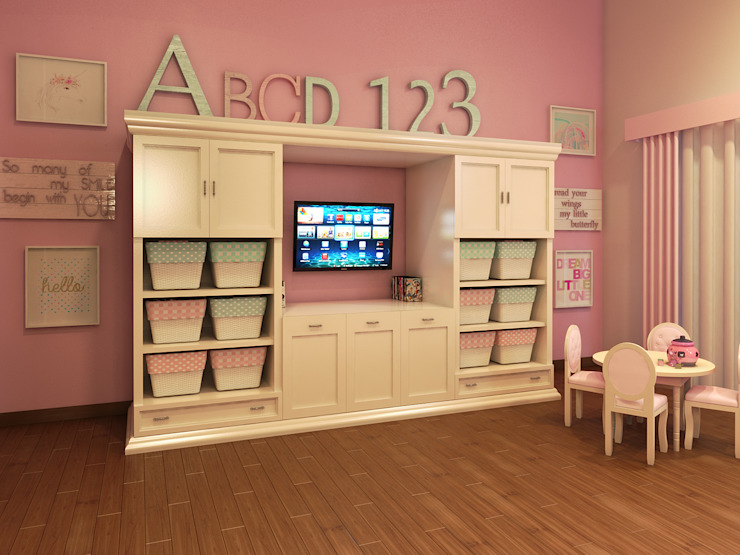 Residencia AC Dormitorios infantiles clásicos de Interiorisarte Clásico