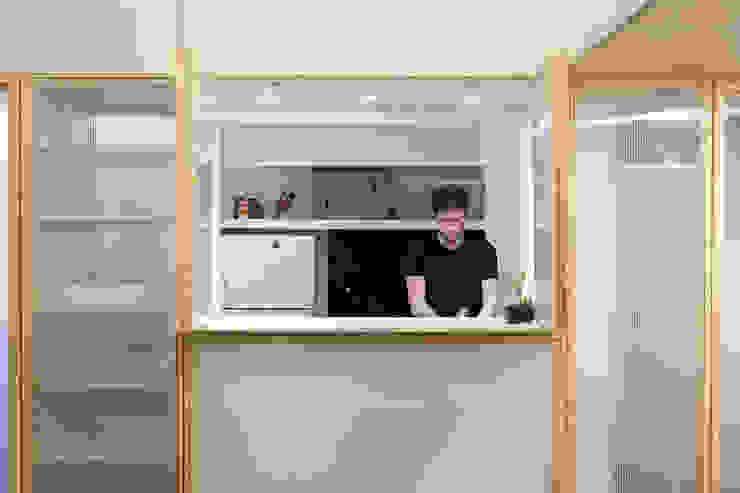 espacio Thea Cocinas minimalistas de IR arquitectura Minimalista