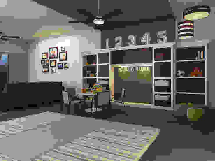 Cuarto de Juegos Dormitorios infantiles modernos de Interiorisarte Moderno