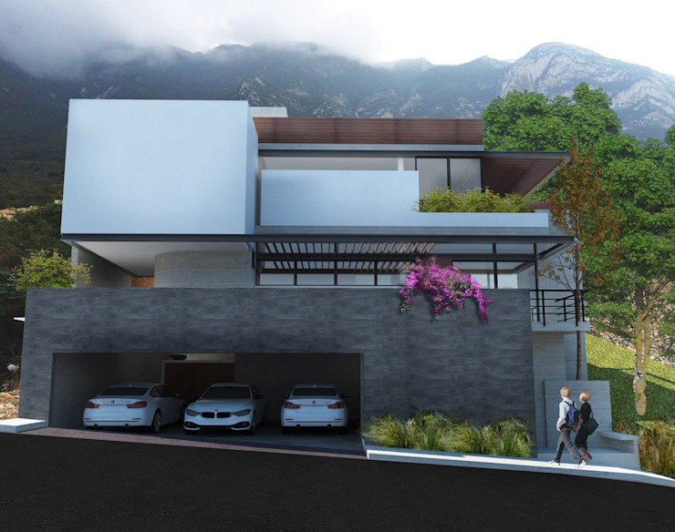 Modern houses by 75 Arquitectura Modern