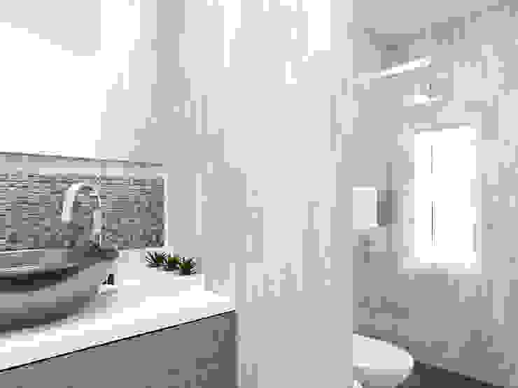 Diseño Baño Baños modernos de LUOVA Interiorismo Moderno