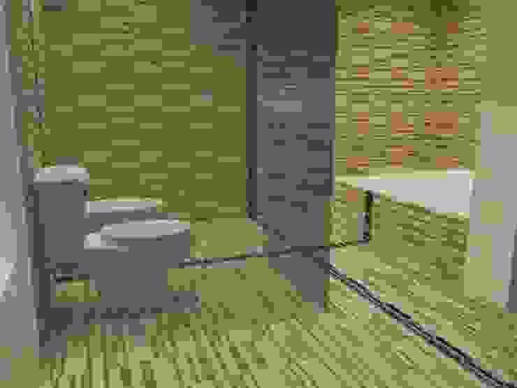 Interiores de Vivienda Acosta Baños minimalistas de Arq. Jose F. Correa Correa Minimalista