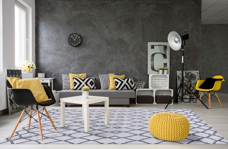 par Mischioff AG Moderne Laine Orange