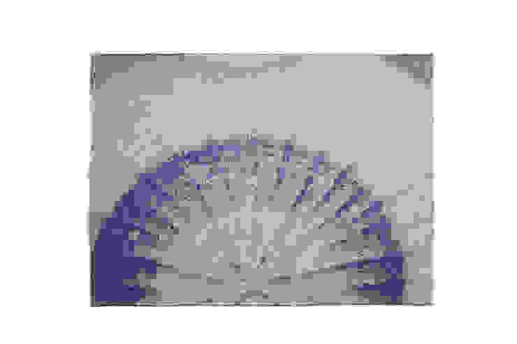 Fungy! Placemat N°1 Blue van Roos Soetekouw Design Eclectisch