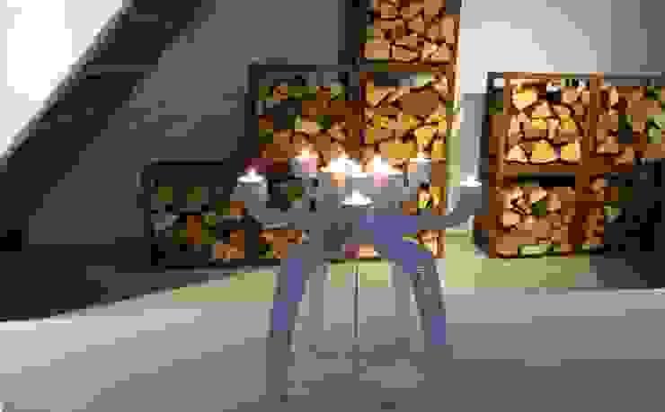 candlesticl 'SINDRI' white van PRODUCTLAB we create Minimalistisch IJzer / Staal