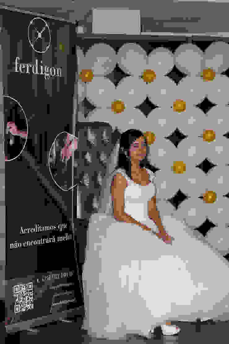 [Ferdigon] Press - Barcelos Noivos Centros de exposições clássicos por Ferdigon Clássico Prata/Ouro
