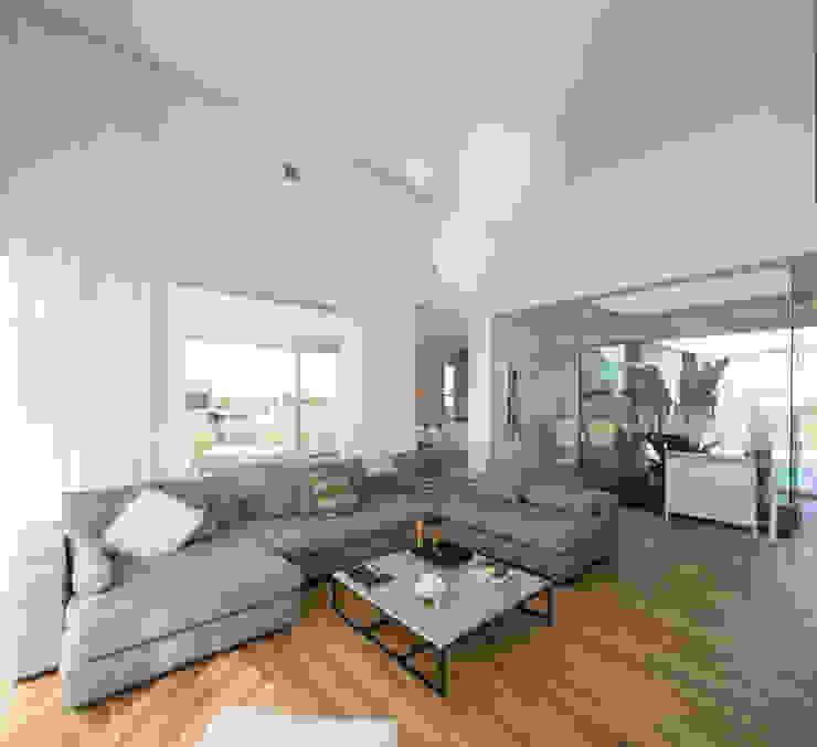 LIVING Salones minimalistas de VISMARACORSI ARQUITECTOS Minimalista