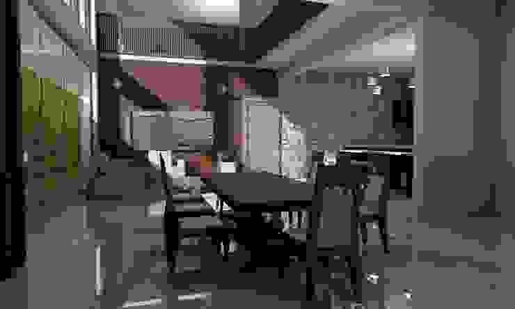 Casa Sin Rostro Comedores minimalistas de ARQUITECTURA MB&A Minimalista
