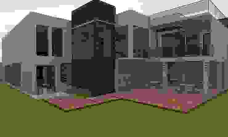 Casa Sin Rostro Jardines minimalistas de ARQUITECTURA MB&A Minimalista