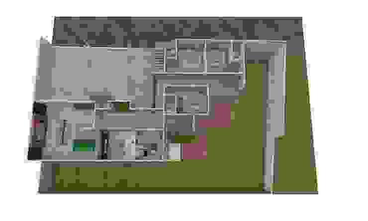 Casa Sin Rostro Casas minimalistas de ARQUITECTURA MB&A Minimalista