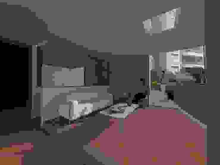 Ampliacion Lobby - Porteria Condominio Lago Club Casas modernas de MODOS Arquitectura Moderno