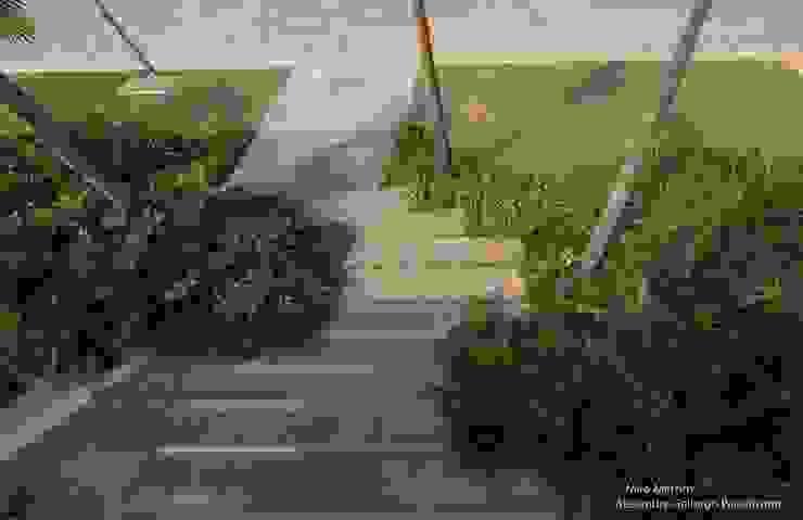 Tropischer Garten von alexandre galhego paisagismo Tropisch