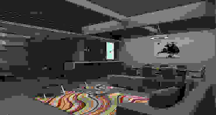 Gus - RIMA Arquitectura Salones modernos de RIMA Arquitectura Moderno Compuestos de madera y plástico