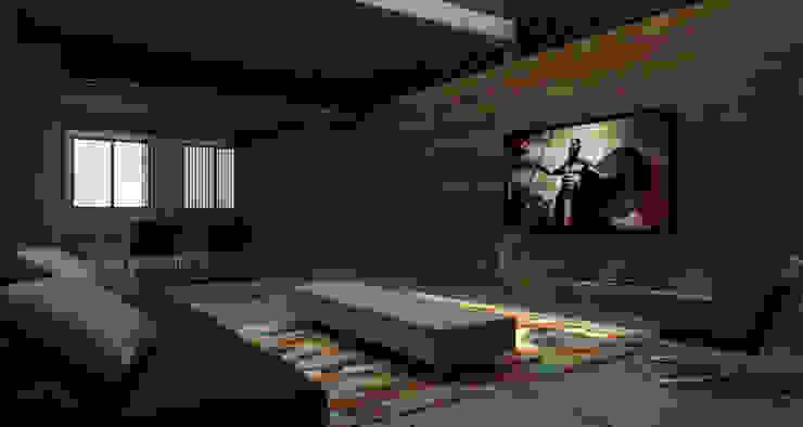 Gus - RIMA Arquitectura Salones modernos de RIMA Arquitectura Moderno Aluminio/Cinc