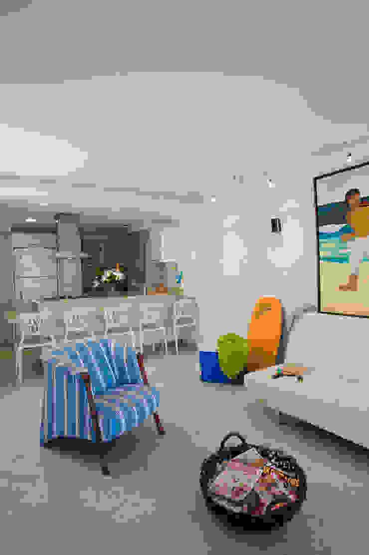 Apartamento 93-A Salas de estilo moderno de Objetos DAC Moderno
