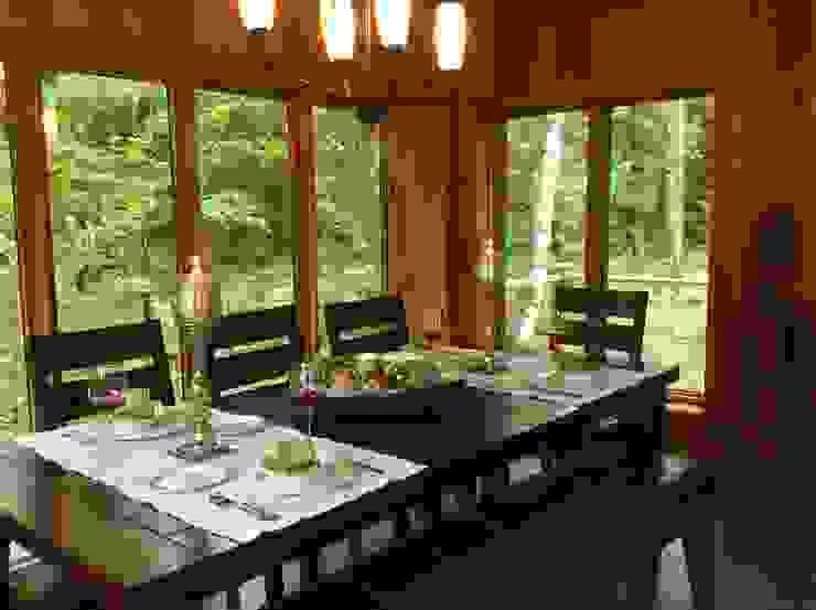 Copier/Coller l'extérieur IDESIGN Laflamme Salle à mangerAccessoires & décorations Bois Effet bois