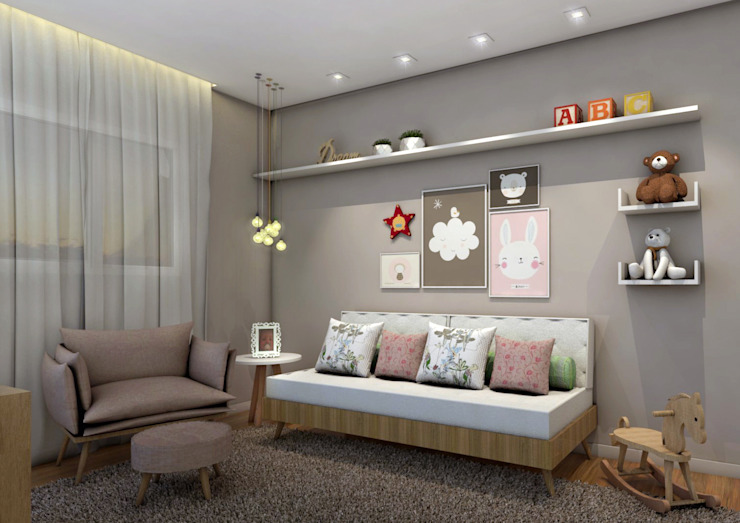 Konverto Interiores + Arquitetura Nursery/kid's room