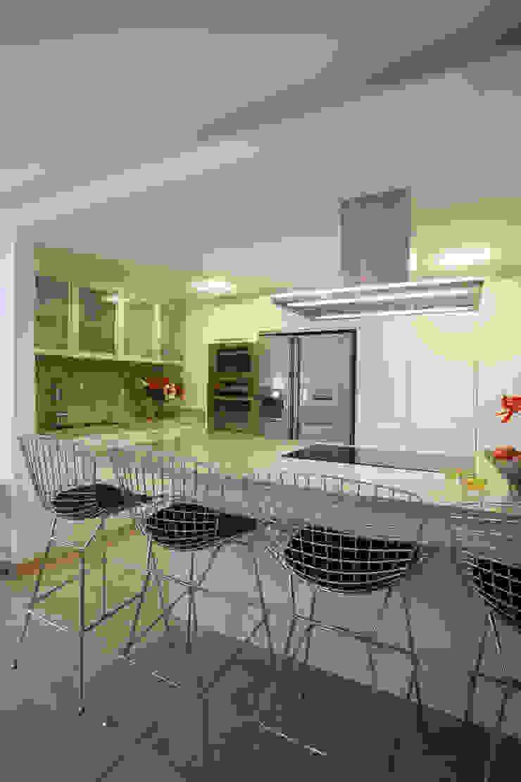 Apartamento 13A Cocinas de estilo moderno de Objetos DAC Moderno