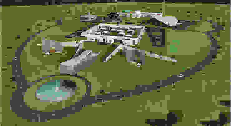 Site layout of M/s. KM Music Conservatory Modern conservatory by Dwellion Modern