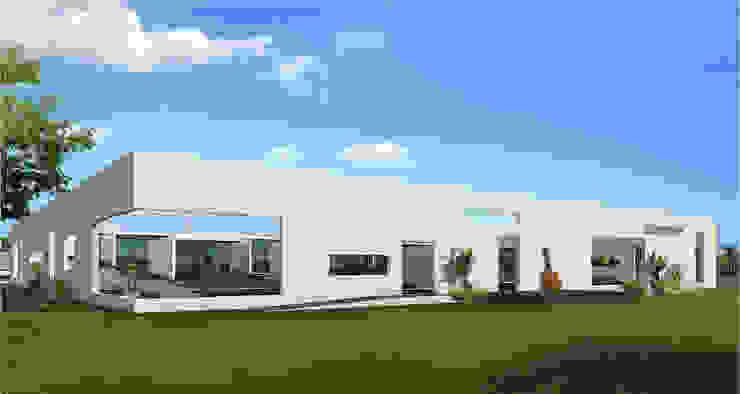 Classrooms of M/s. KM Music Conservatory Modern conservatory by Dwellion Modern