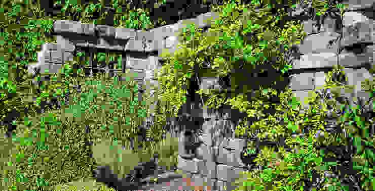 Fertigbausatz Verona Rimini Baustoffe GmbH Mediterraner Garten Beton