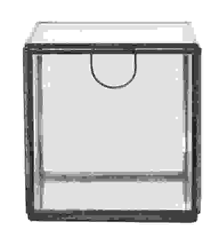 Caixa de Vidro Media 2 por Manuela Bento Decor Moderno Metal