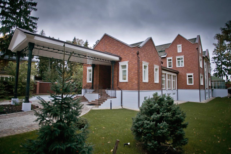 корпоративный дом Дома в эклектичном стиле от alexinteriorus Эклектичный