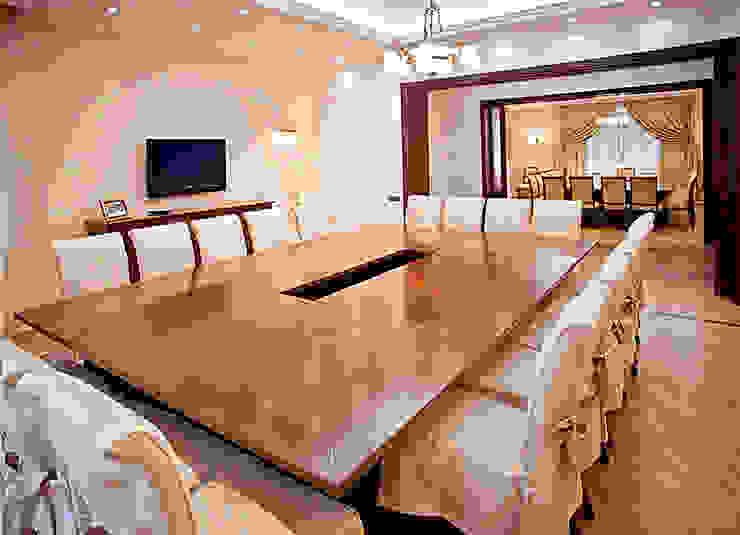 переговорная Рабочий кабинет в эклектичном стиле от alexinteriorus Эклектичный