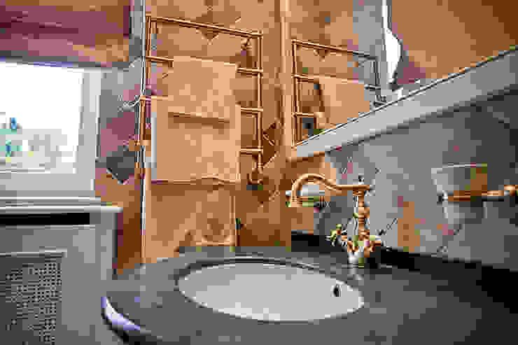 корпоративный дом Ванная комната в эклектичном стиле от alexinteriorus Эклектичный