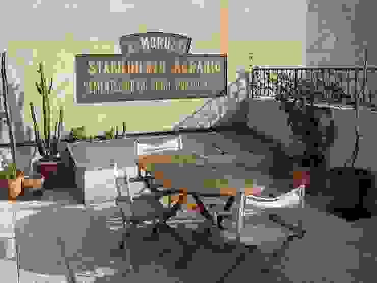studiodonizelli Balcones y terrazas de estilo industrial Hormigón