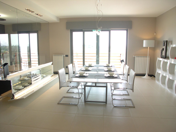 Alfonso D'errico Architetto Modern Dining Room